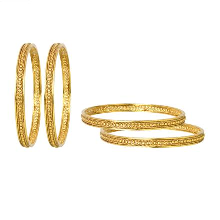 12066 Antique Classic Bangles with gold plating