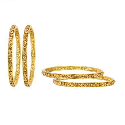 12068 Antique Classic Bangles with gold plating