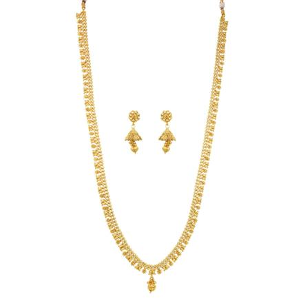 12080 Antique Long Necklace with gold plating