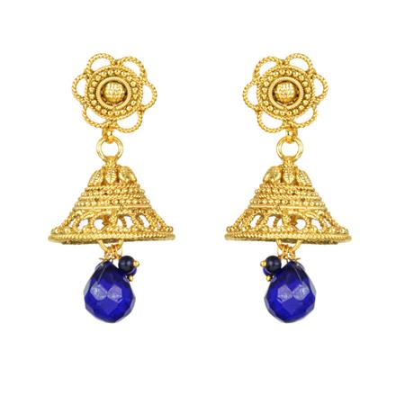 12118 Antique Jhumki with gold plating