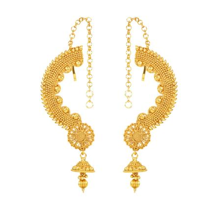 12138 Antique Earcuff with gold plating