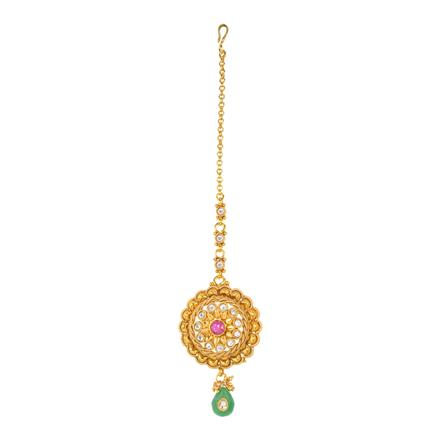 12193 Antique Classic Tikka with gold plating