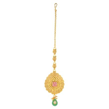 12198 Antique Classic Tikka with gold plating