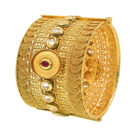 12199 Antique Openable Bangles with gold plating