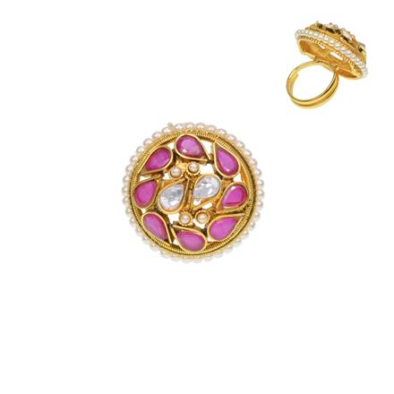 12280 Antique Classic Ring with gold plating