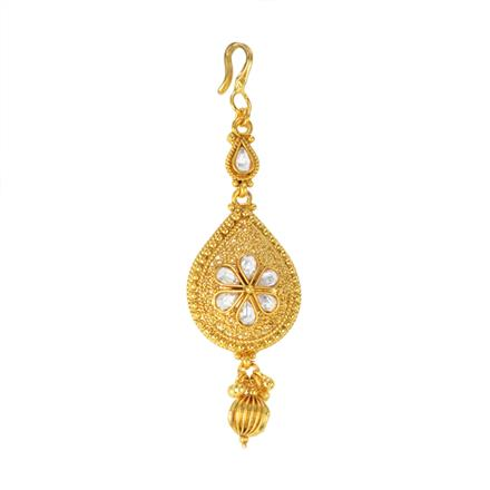 12289 Antique Classic Tikka with gold plating