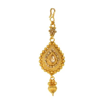 12290 Antique Classic Tikka with gold plating