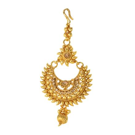 12293 Antique Chand Tikka with gold plating