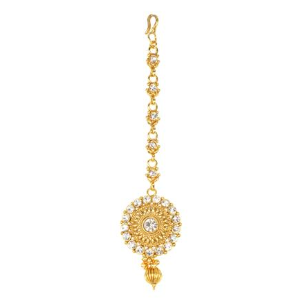 12294 Antique Classic Tikka with gold plating