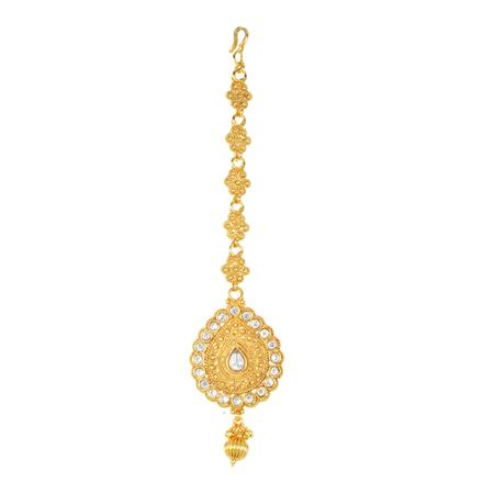 12297 Antique Classic Tikka with gold plating