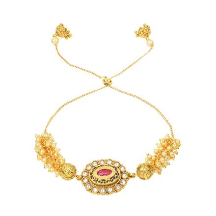 12341 Antique Classic Bracelet with gold plating