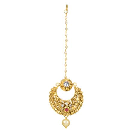 12347 Antique Chand Bore with gold plating