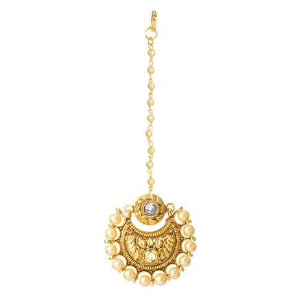12348 Antique Chand Bore with gold plating