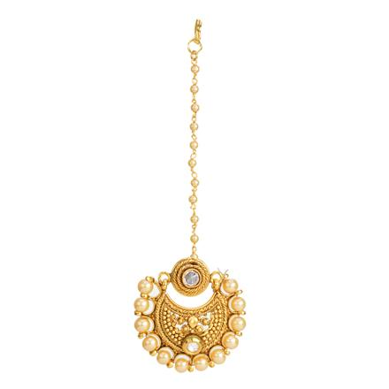 12349 Antique Chand Bore with gold plating