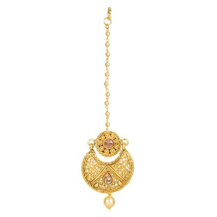 12350 Antique Chand Bore with gold plating