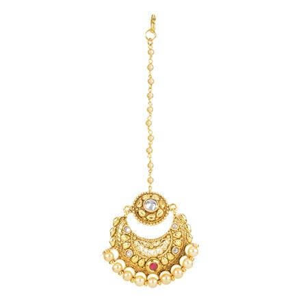 12351 Antique Chand Bore with gold plating