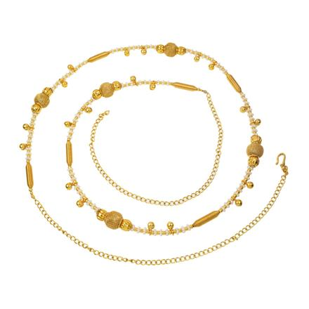 12389 Antique Delicate Belt with gold plating