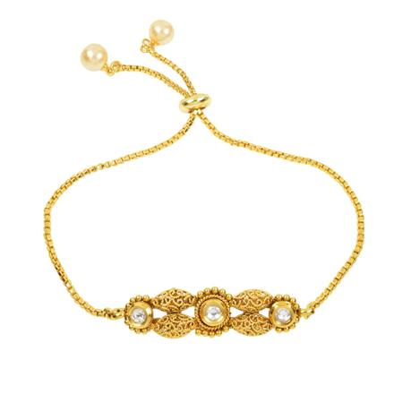 12423 Antique Delicate Bracelet with gold plating