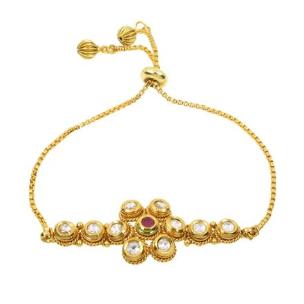12428 Antique Delicate Bracelet with gold plating