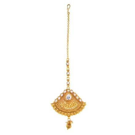12469 Antique Classic Tikka with gold plating