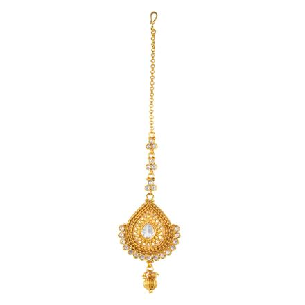 12472 Antique Classic Tikka with gold plating