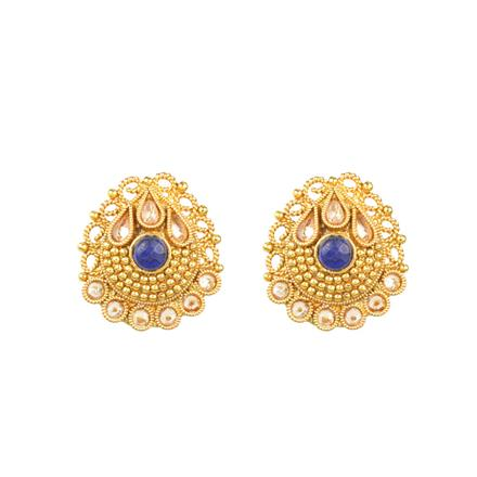 12497 Antique Tops with gold plating