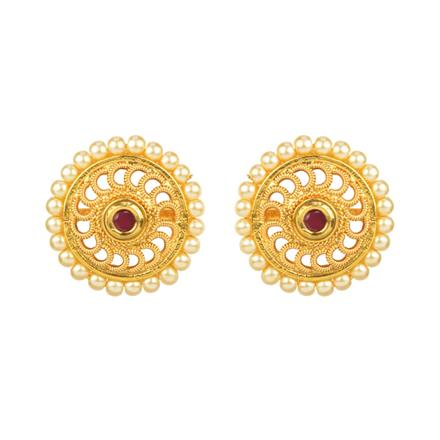 12508 Antique Tops with gold plating