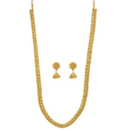 12538 Antique Long Necklace with gold plating