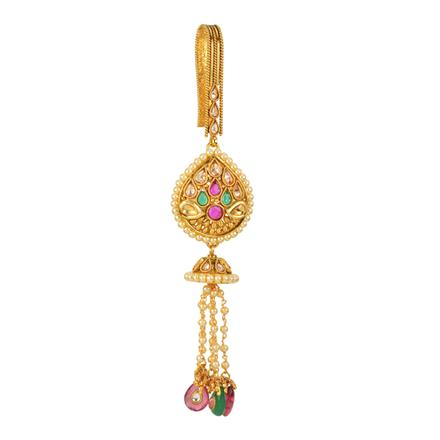 12605 Antique Delicate Jhuda with gold plating