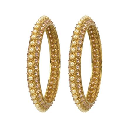 12668 Antique Classic Bangles with gold plating