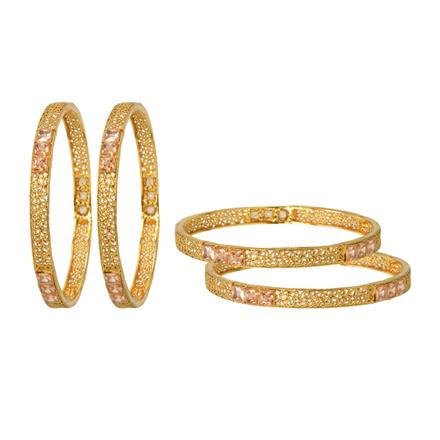 12688 Antique Classic Bangles with gold plating