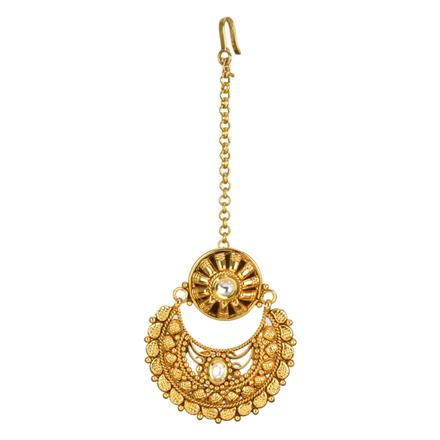 12704 Antique Chand Bore with gold plating