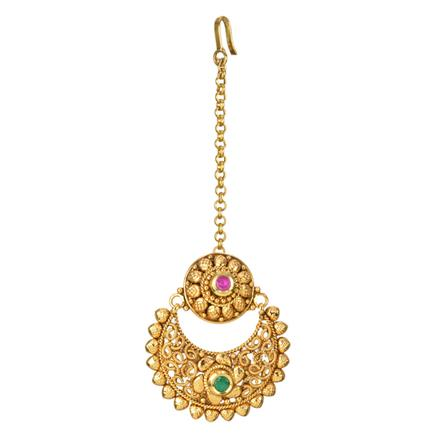 12705 Antique Chand Bore with gold plating
