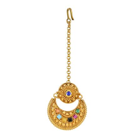 12706 Antique Chand Bore with gold plating