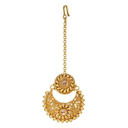 12708 Antique Chand Bore with gold plating