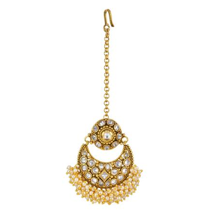 12710 Antique Chand Bore with gold plating