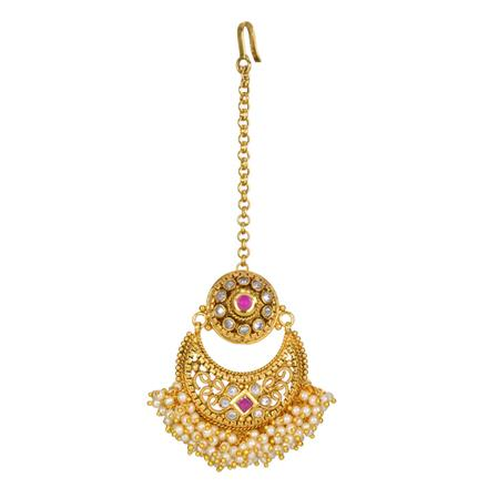 12712 Antique Chand Bore with gold plating