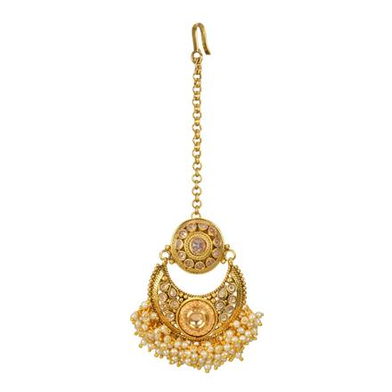 12713 Antique Chand Bore with gold plating