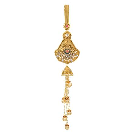 12726 Antique Classic Jhuda with gold plating