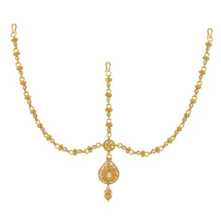 12736 Antique Classic Damini with gold plating