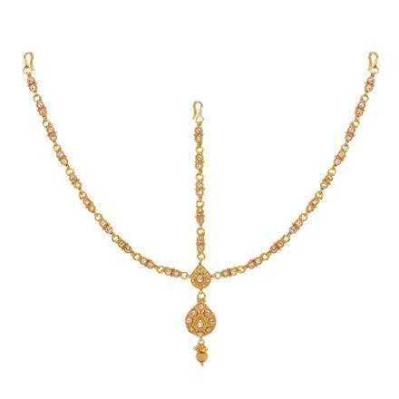 12741 Antique Classic Damini with gold plating