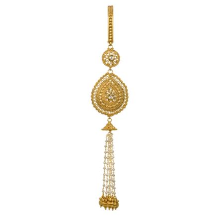 12827 Antique Classic Jhuda with gold plating