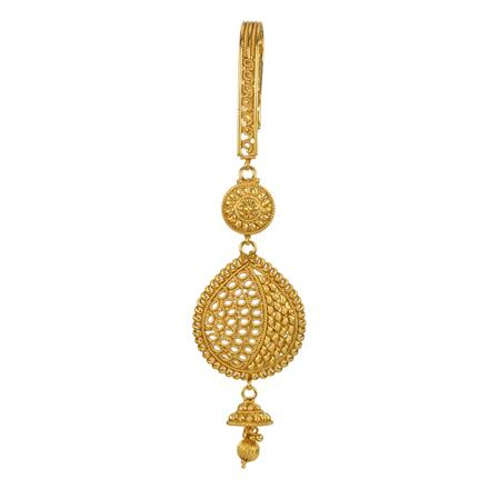 12830 Antique Delicate Jhuda with gold plating
