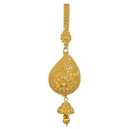 12834 Antique Delicate Jhuda with gold plating