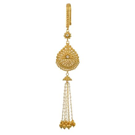 12835 Antique Classic Jhuda with gold plating