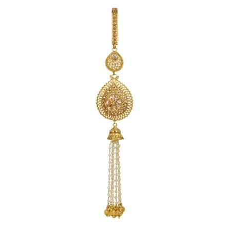 12836 Antique Classic Jhuda with gold plating