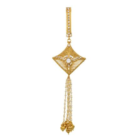 12837 Antique Classic Jhuda with gold plating