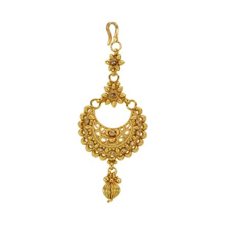 12853 Antique Chand Tikka with gold plating