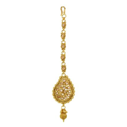 12859 Antique Classic Tikka with gold plating