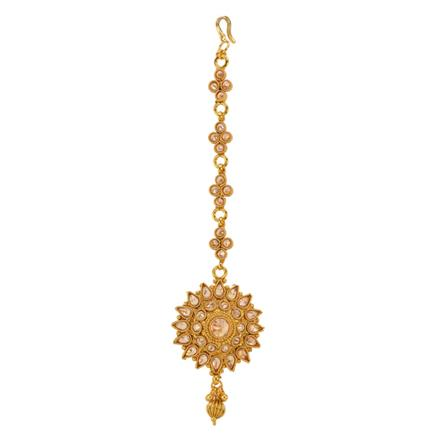 12863 Antique Classic Tikka with gold plating